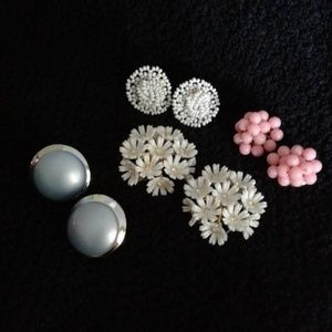 Jewelry - $15 a pair *Vintage* Clip on Earrings